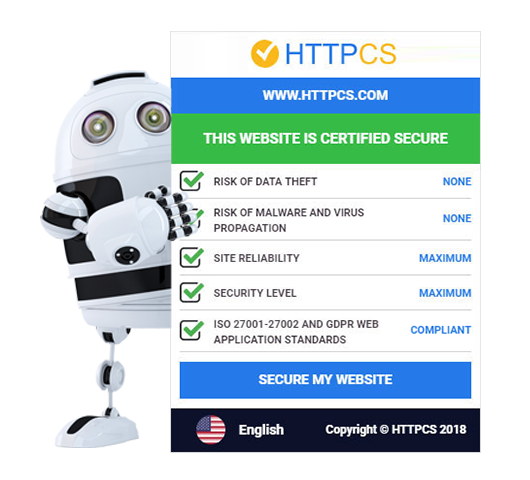 HTTPCS - Certified Seal