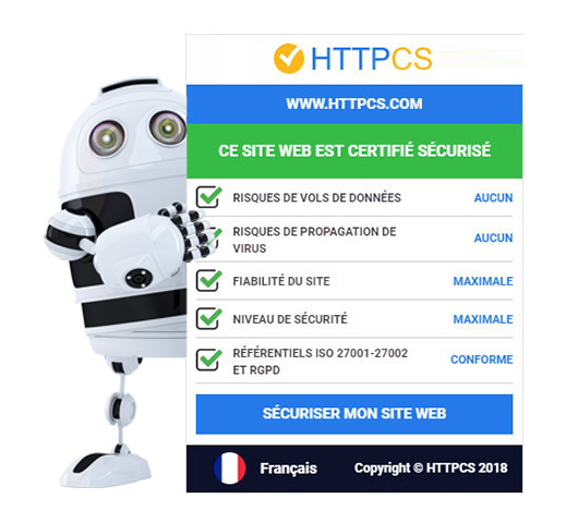 HTTPCS - Sceau de Certification