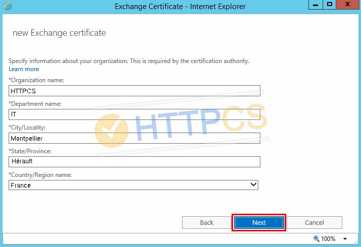 Comment installer un certificat SSL avec Microsoft Exchange