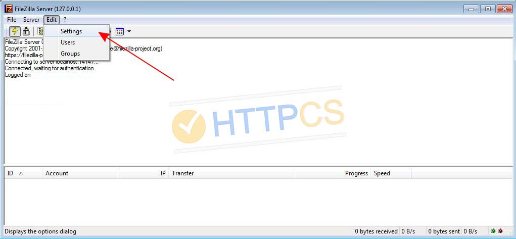 How to install an SSL certificate with FileZilla Server