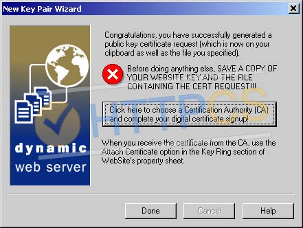 Comment installer un certificat SSL avec WebSite Pro